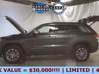 2016 Jeep Grand Cherokee Limited 4wd, just off