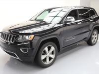 This awesome 2016 Jeep Grand Cherokee 4x4 comes loaded