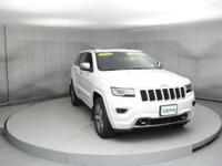 This super 2016 Jeep Grand Cherokee Overland is the