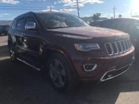 Options:  2016 Jeep Grand Cherokee Overland 4X4||1St