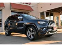 1-Owner, 2016 Jeep Grand Cherokee Overland 4x2. This