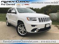 Options:  2016 Jeep Grand Cherokee Summit|Ivory