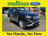 Options:  2016 Jeep Grand Cherokee Summit|Carfax