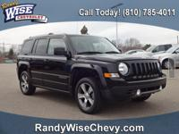 CARFAX One-Owner. Black Clearcoat 2016 Jeep Patriot