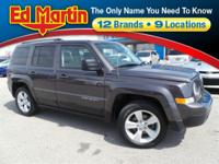 Priced to Sell...2016 Jeep Patriot Latitude Bright