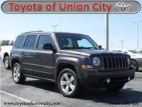 CARFAX One-Owner. Clean CARFAX. Gray 2016 Jeep Patriot