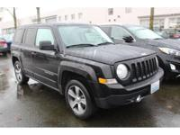 Black Clearcoat 2016 Jeep Patriot Latitude 4WD CVT with