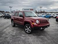 Deep Cherry Red Crystal Pearlcoat 2016 Jeep Patriot