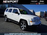 It doesn't get much better than this 2016 Jeep Patriot