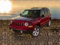 Patriot Latitude, Jeep Certified, 4D Sport Utility,