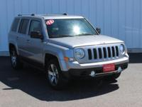 Options:  2016 Jeep Patriot Latitude|Silver|Full