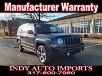 CARFAX One-Owner. Clean CARFAX. Black 2016 Jeep Patriot