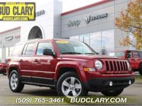 CARFAX One-Owner. Clean CARFAX. Red 2016 Jeep Patriot