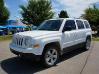 Clean CARFAX. 2016 Jeep Patriot Latitude FWD 6-Speed