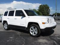 White 2016 Jeep Patriot Latitude FWD CVT 2.0L I4 DOHC