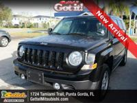 Clean CARFAX. 2016 Jeep Patriot Sport 4WD CVT with Off