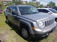 4WD. Recent Arrival! Gray 2016 Jeep Patriot Sport 4WD