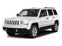 Options:  2016 Jeep Patriot Sport|White/|V4 2.4 L