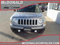Options:  2016 Jeep Patriot Sport  4X4|Miles: