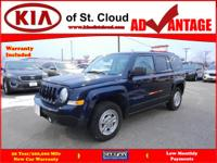 Options:  2016 Jeep Patriot Sport|4X4 Sport 4Dr
