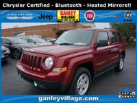 Chrysler certified! Heated mirrors! Bluetooth! Roof