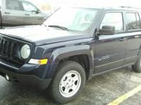 This one owner 2016 Jeep Patriot has  roof rails, fog