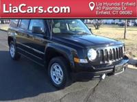 2016 Jeep Patriot in Black Clearcoat, Carfax