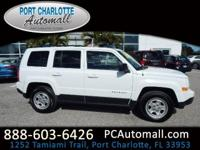 CARFAX One-Owner. Clean CARFAX. White 2016 Jeep Patriot