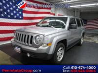 CARFAX One-Owner. Clean CARFAX. Grey 2016 Jeep Patriot