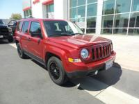 This 2016 Jeep Patriot Sport, has a great Deep Cherry