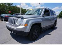 Options:  2016 Jeep Patriot Sport|Silver|A Portable