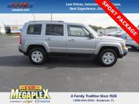 This 2016 Jeep Patriot Sport in Silver is well equipped