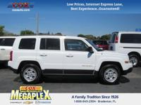 This 2016 Jeep Patriot Sport in White is well equipped