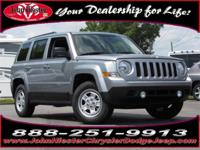 Options:  2016 Jeep Patriot Sport|Silver|Lifetime