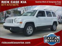 2016 Jeep Patriot Sport in White, 20 Years 200k