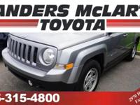 Check out this gently-used 2016 Jeep Patriot we