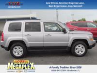 This 2016 Jeep Patriot Sport in Gray is well equipped