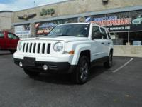 Introducing the 2016 Jeep Patriot! It comes equipped