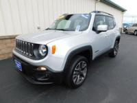 With only 8k miles on it, this Jeep Renegade Latitude