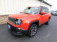 With only 9k miles on it, this Jeep Renegade Latitude