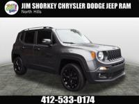 2016 Jeep Renegade Latitude New Price! Certified.