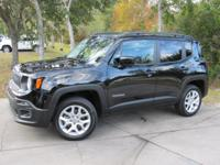This 2016 Jeep Renegade 4dr 4WD 4dr Latitude features a