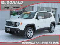 Options:  2016 Jeep Renegade Latitude 4X4|Miles: