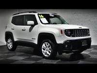 Arrive in style in our great looking 2016 Jeep Renegade