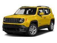 Recent Arrival! 2016 Jeep Renegade Latitude Green 4WD