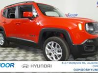Jeep Renegade Latitude CARFAX One-Owner. 9-Speed 948TE