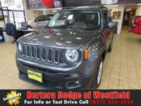 4WD! Turbo! This stunning 2016 Jeep Renegade is the