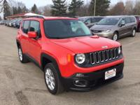 Options:  2016 Jeep Renegade Latitude 4X4|While We Make