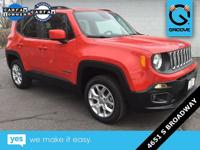 2016 Jeep Renegade Latitude Colorado Red ONE OWNER,