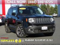 Options:  2016 Jeep Renegade Latitude|Black|Check Out